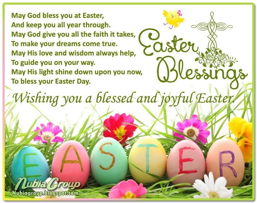 irish easter blessing Easter Blessings Quotes – Easter Card Sayings