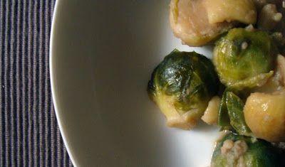 - VANIGLIA - storie di cucina: insalata tiepida di castagne e cavolini di bruxelles