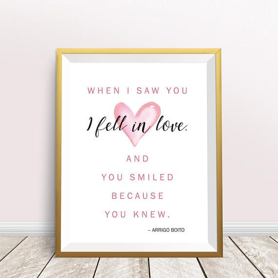 Gift For Wife Gift For Husband Printable Love Quote Valentine