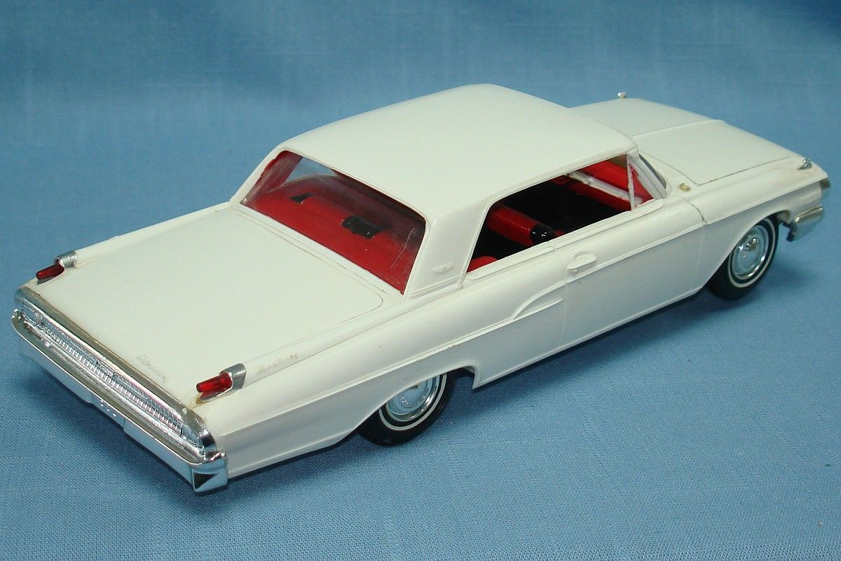 1962 Mercury for Sale | 1962 MERCURY MONTEREY HARDTOP AMT PLASTIC ...