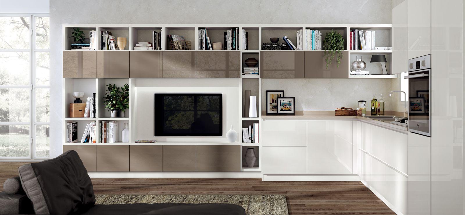 Salas de estar Scavolini | Living area | Pinterest | Piccole cucine ...