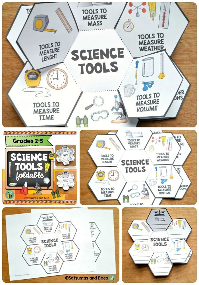 Science tools foldable that your your students will have FUN completing. Perfect in interactive ...