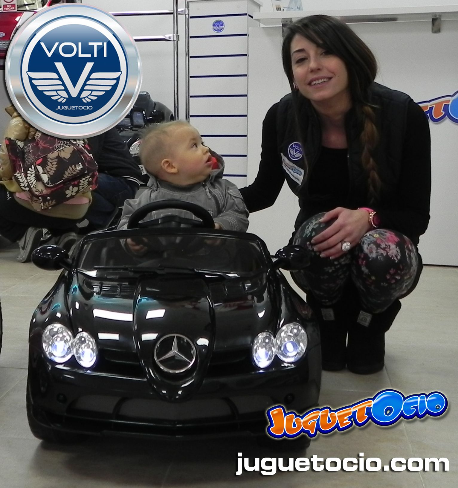 858e40ee0 Coches eléctricos infantiles de venta en España en www.volti.es ...
