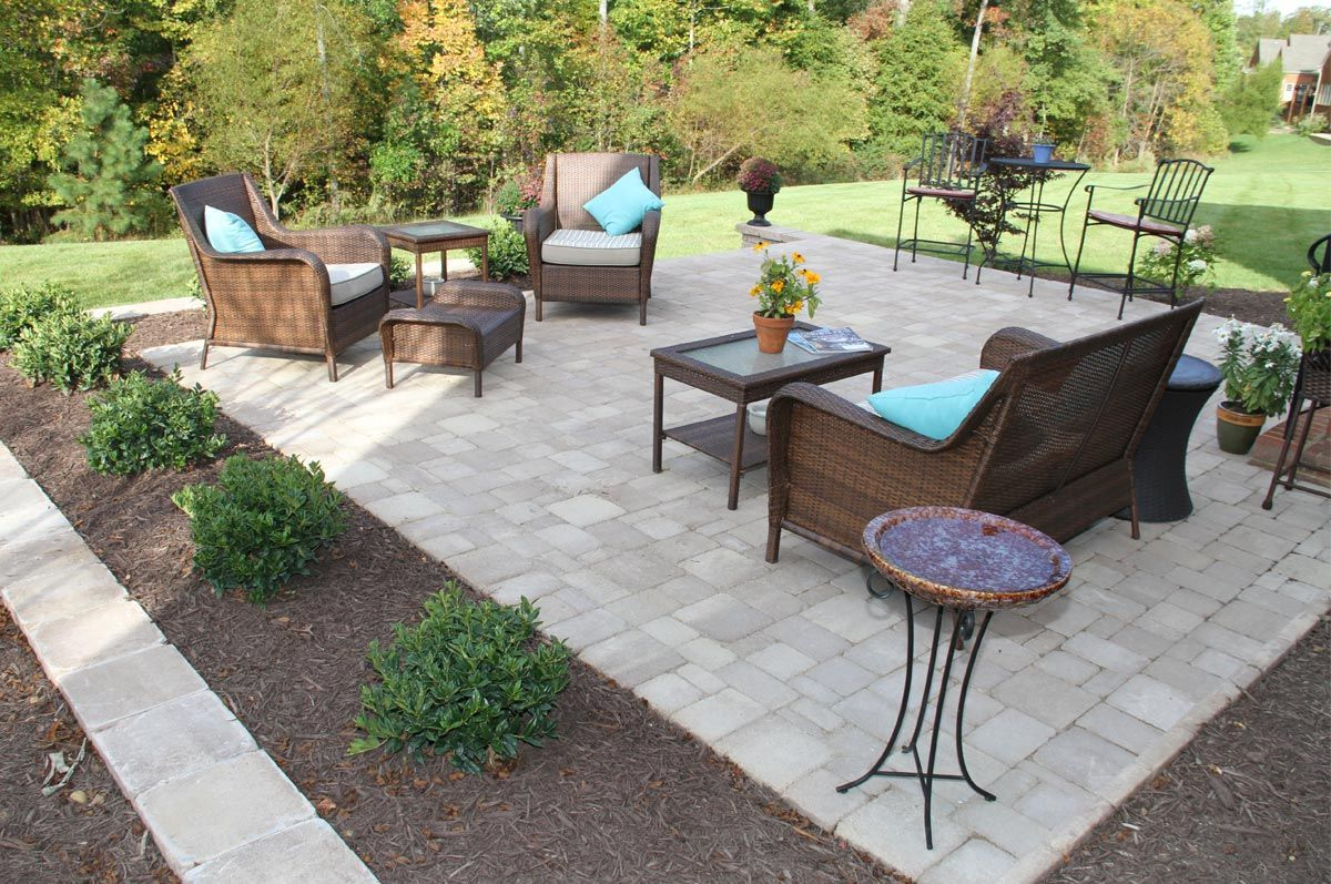 Enjoy A Backyard Patio With Sauders Hardscape Supply Materials - Backyard hardscape ideas