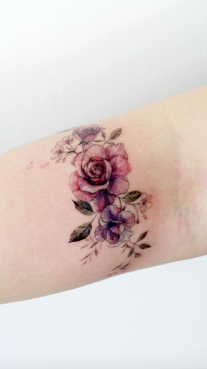 Photo of Conceptions simples de tatouage pour porter votre fleur préférée sur votre peau. Êtes-vous looki …