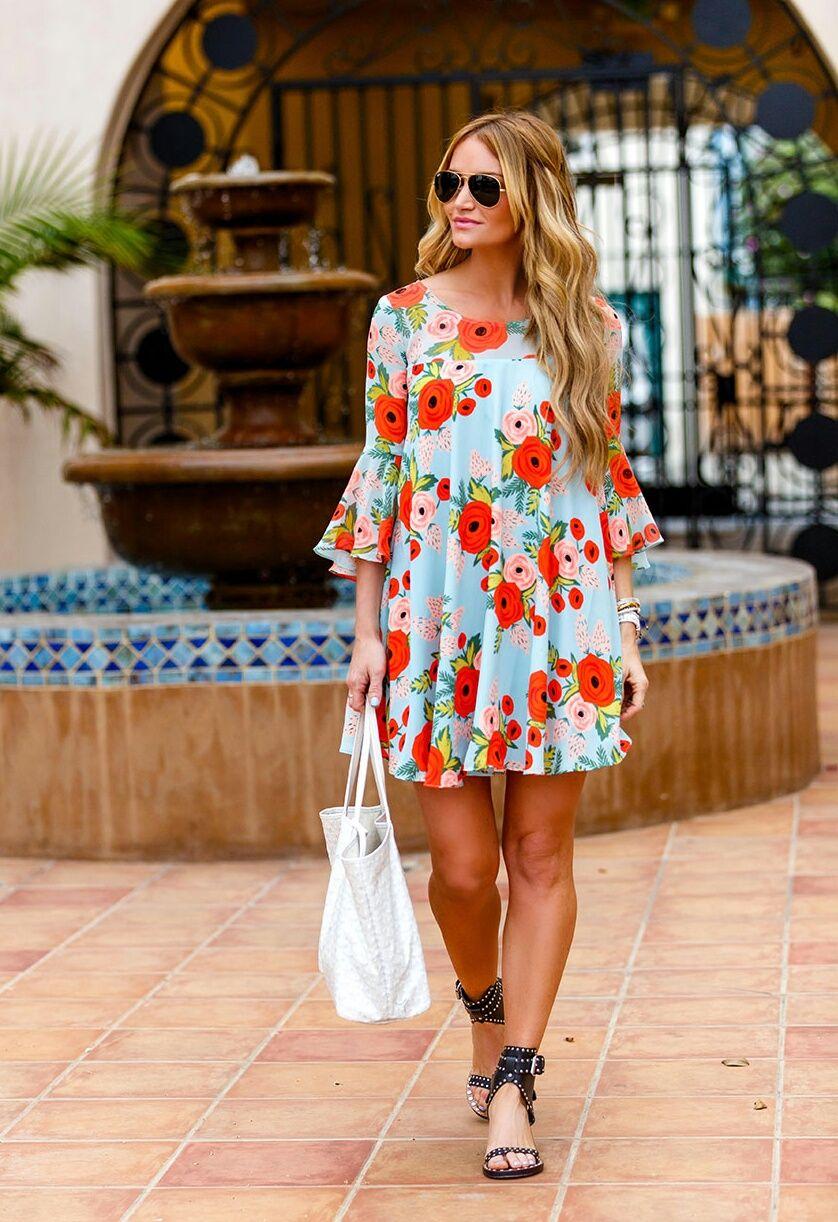 Summer Dresses  Dress: Paper Crown, Sandals: Isabel Marant  DKW Styling