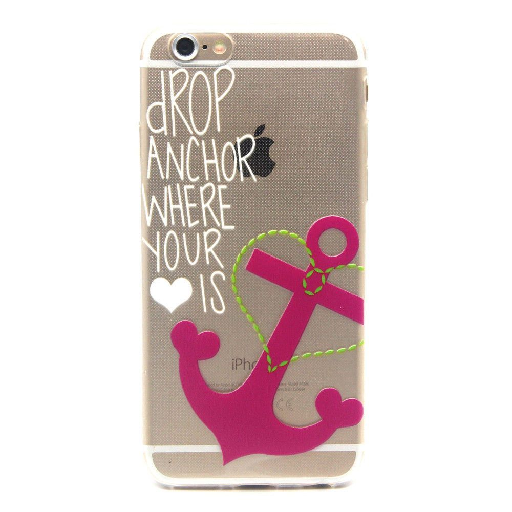 iphone 5 56 6 drop anchor where your heart is case products