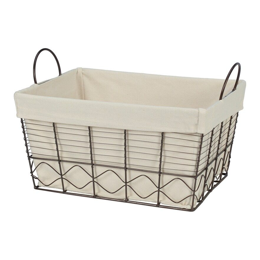 Creative Ware Home Soho Storage Towel Basket In 2019 Towel Basket Metal Baskets Basket