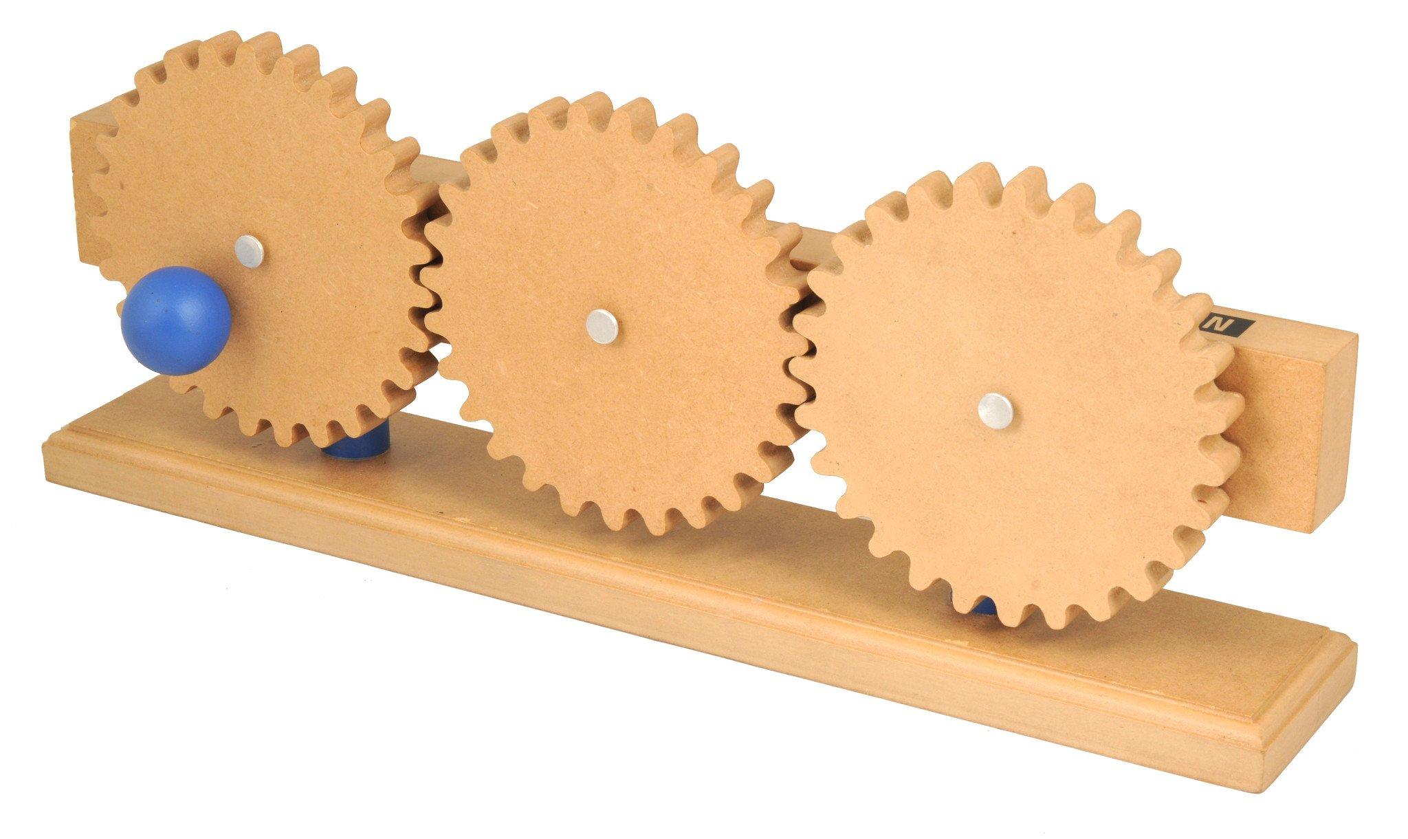 Eisco Labs Simple Machines Gear Train Model