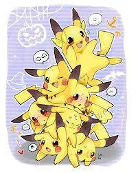 The leaning tower of Pikachu.