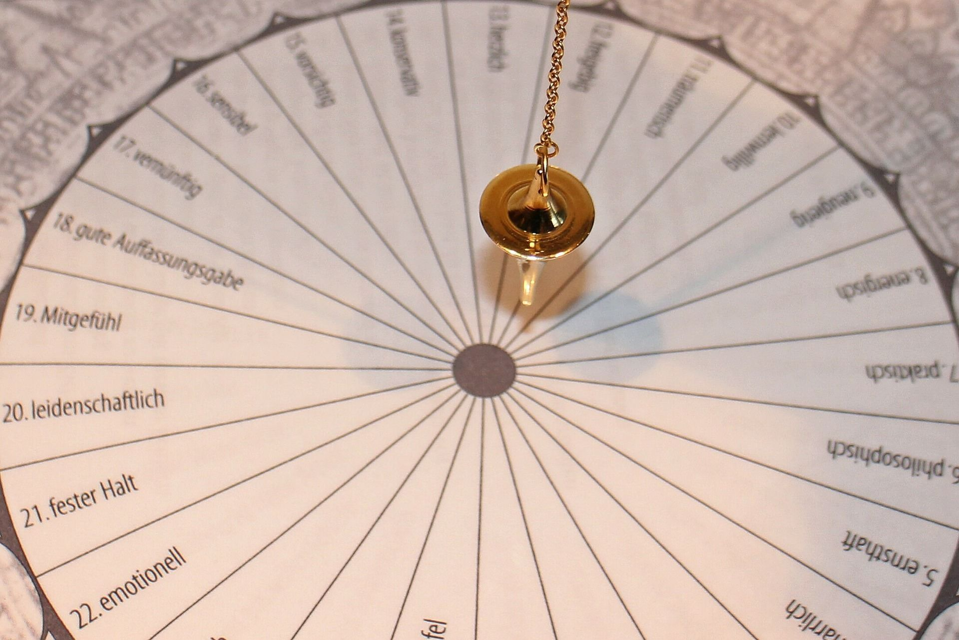 How to use a pendulum to dowse for answers mediumship