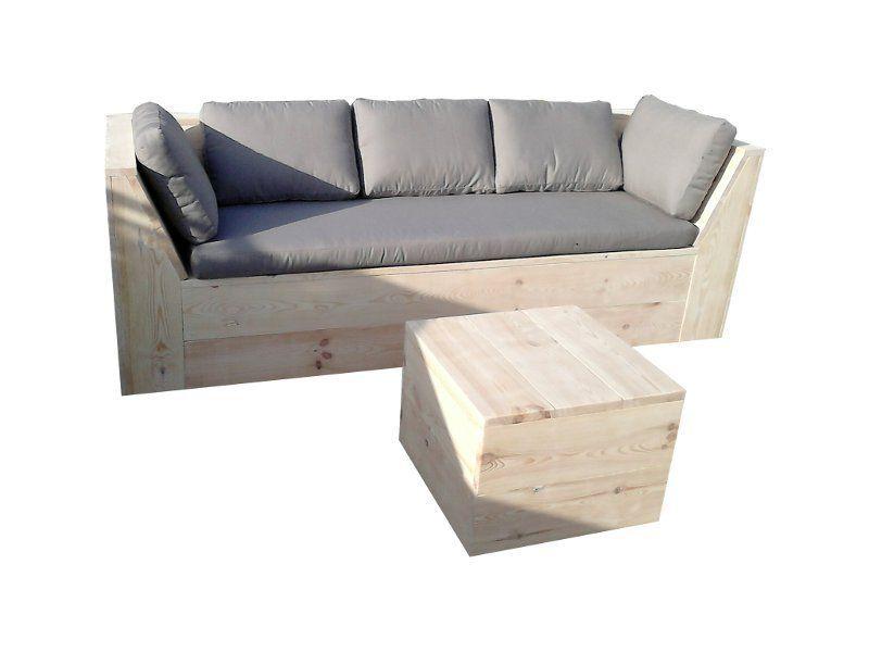 Loungemöbel,+Sofa+aus+Holz,+Bauholz,+Loft+von+Woodenfactory+auf+ ...