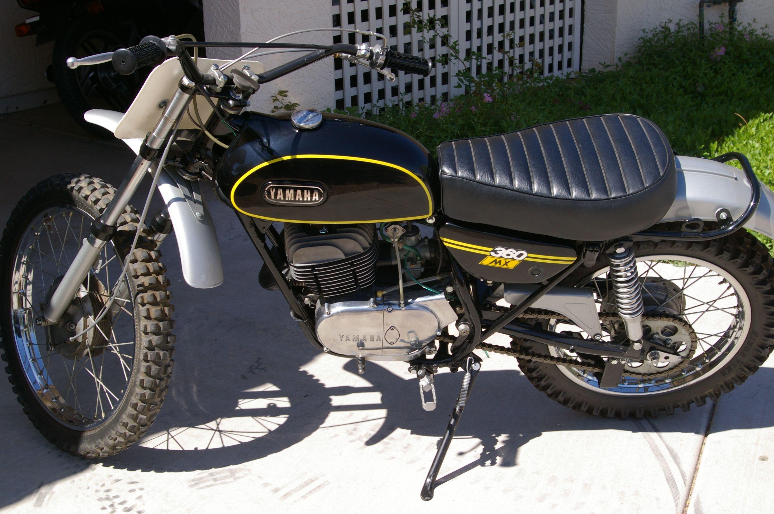 Vintage Yamaha Enduro 360 Restored By Barracuda Racing Racing Yamaha Barracuda