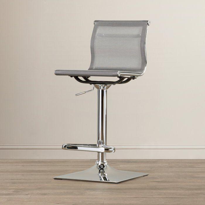 Wondrous Bartow Adjustable Height Swivel Bar Stool In 2019 Gardens Uwap Interior Chair Design Uwaporg