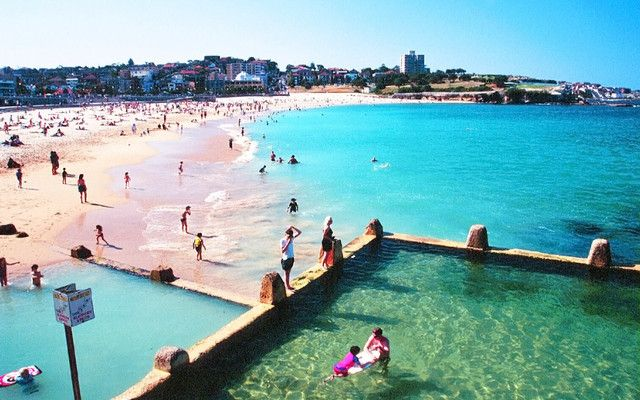 Natural Pool | Coogee Beach, Sydney | Lived in Sydney, Australia | Winter, Spring & Summer 2oo2