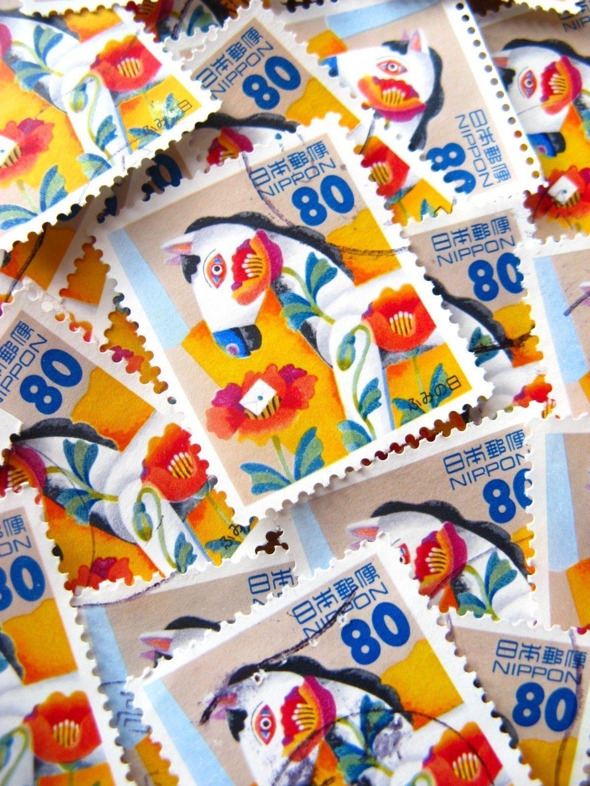 Japanese postage - dala horse