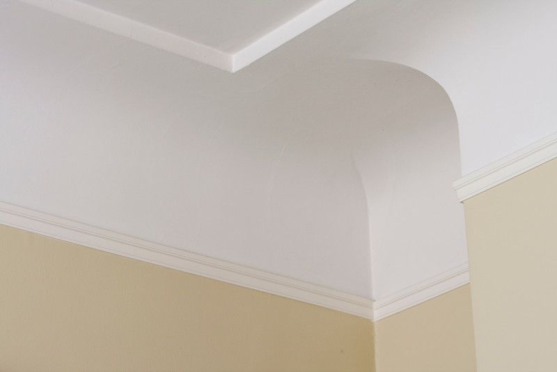 Coved ceiling with molding | Home Improvement | Ceiling ...