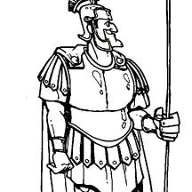 Peter And Cornelius Bible Coloring Page Sketch Coloring