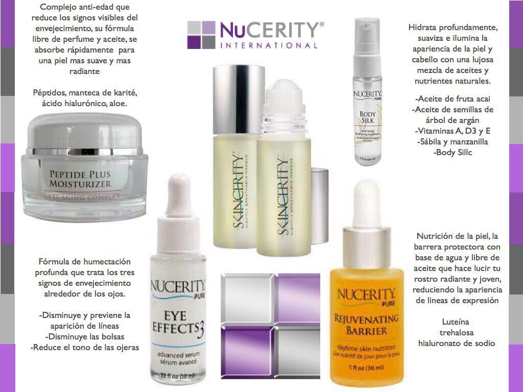Los mejores productos para el cuidado de la piel, visita buynucerity/danielamugar