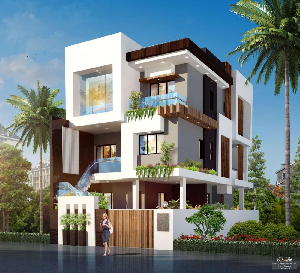 Home Design Exterior In India