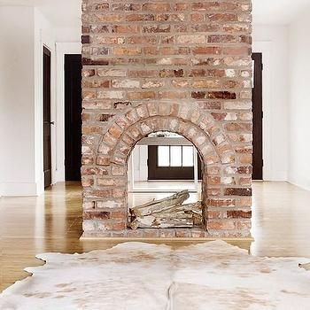 Double Sided Fireplace Design Decor Photos Pictures Ideas Inspiration Paint Colors And Remodel Brick Fireplace Fireplace House Design