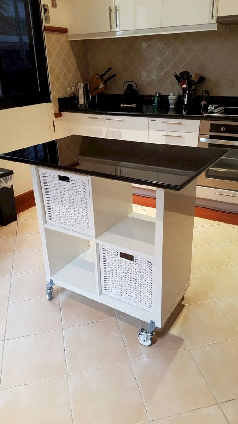 35 creative and simple diy furniture hacks ikea kitchen island kitchen island storage on kitchen island ideas diy ikea hacks id=67762