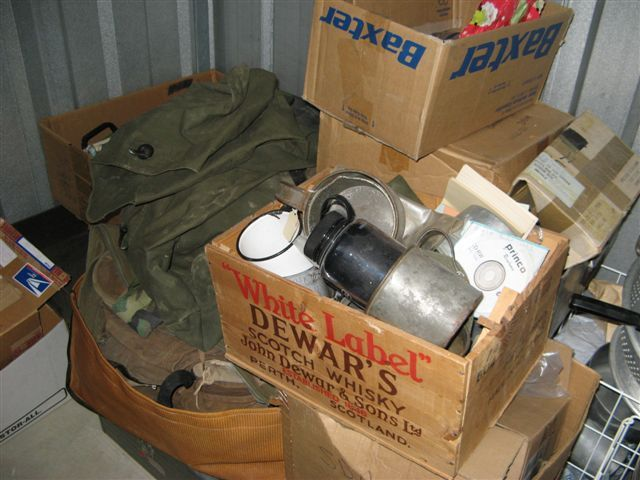 Military collector had a house full and storage units of Spanish American War to Vietnam War equipment. 3/29/16 & Military collector had a house full and storage units of Spanish ...