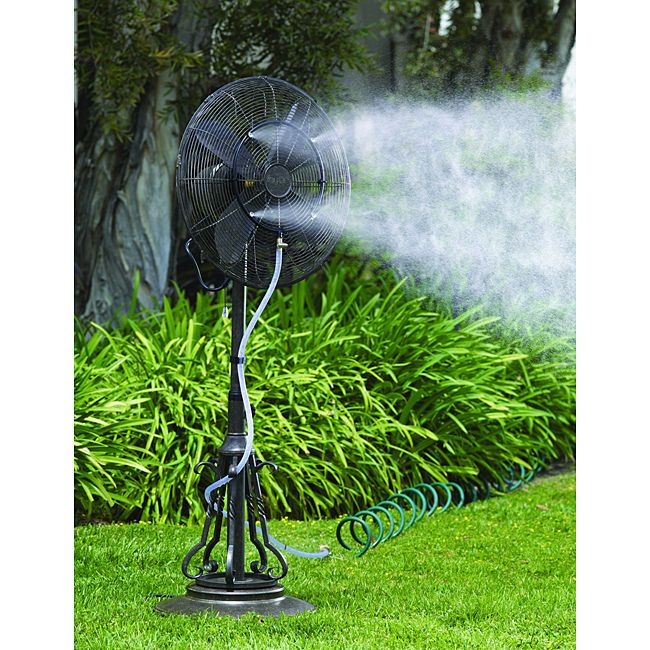 Fan Misting Kit Outdoor Patio Furniture Air Conditioning Water Fountain  Sprinkle #doesnotapply