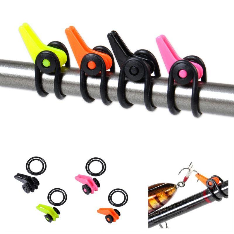 10PcsBag Plastic Fishing Hook Keeper for Fishing Rod Pole