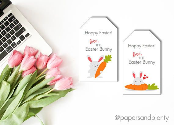 Printable easter basket gift tags great for kids parents teacher printable easter basket gift tags great for kids parents teacher gifts and more negle Image collections