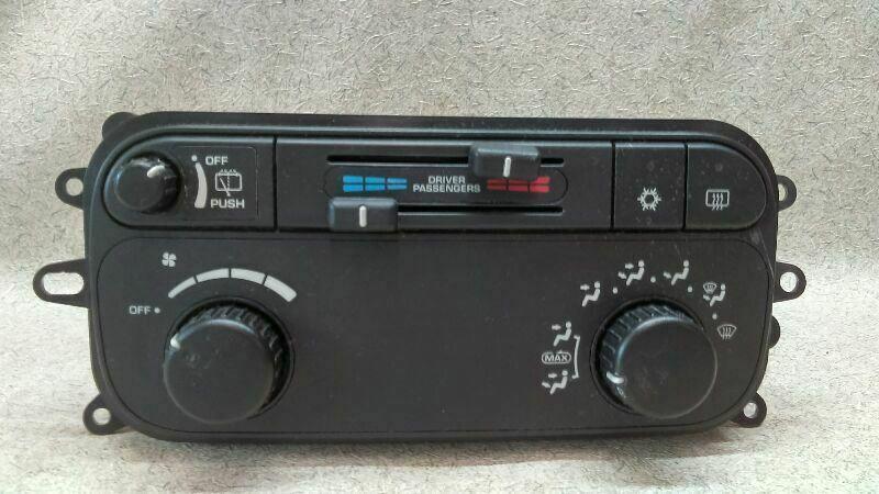 Temperature Climate Control 55056250ad Fits 02 03 Dodge Durango K103 174557 Dodgetruck Dodge Durango Car Parts And Accessories Ac Heating