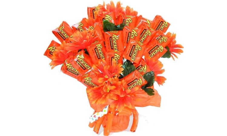 Reese's Peanut Butter Cup Bouquet Giveaway Https://swee.ps