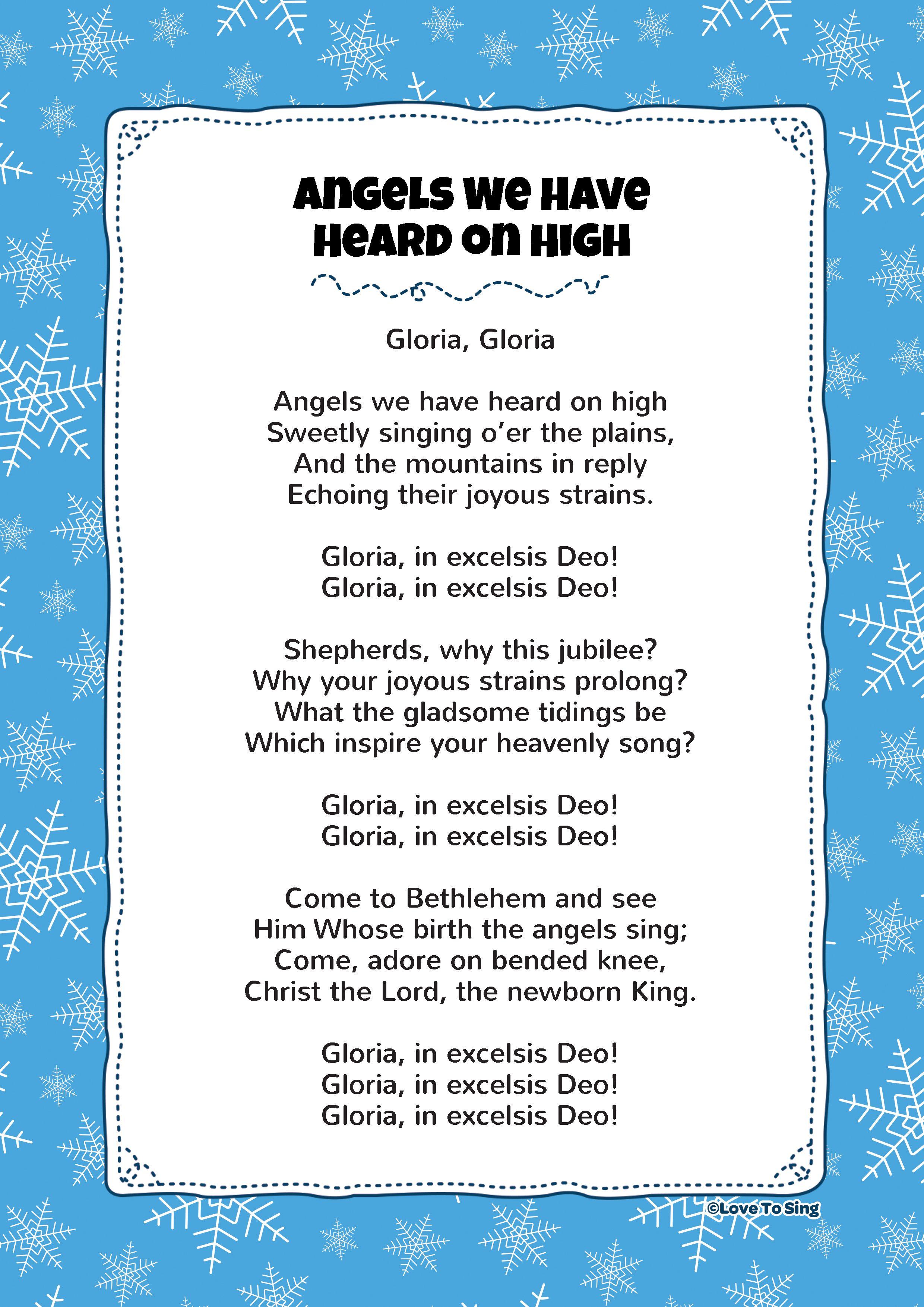48 Christmas Song Lyrics And Carols Lyrics Ideas Christmas Songs Lyrics Carol Lyrics Christmas Song