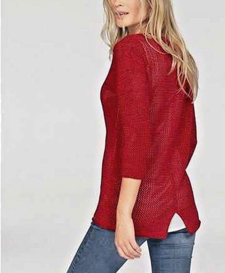 6d82b1498d1e Details zu Tom Tailor Damen Pullover rot Neu Gr.44 in 2018   Damen ...
