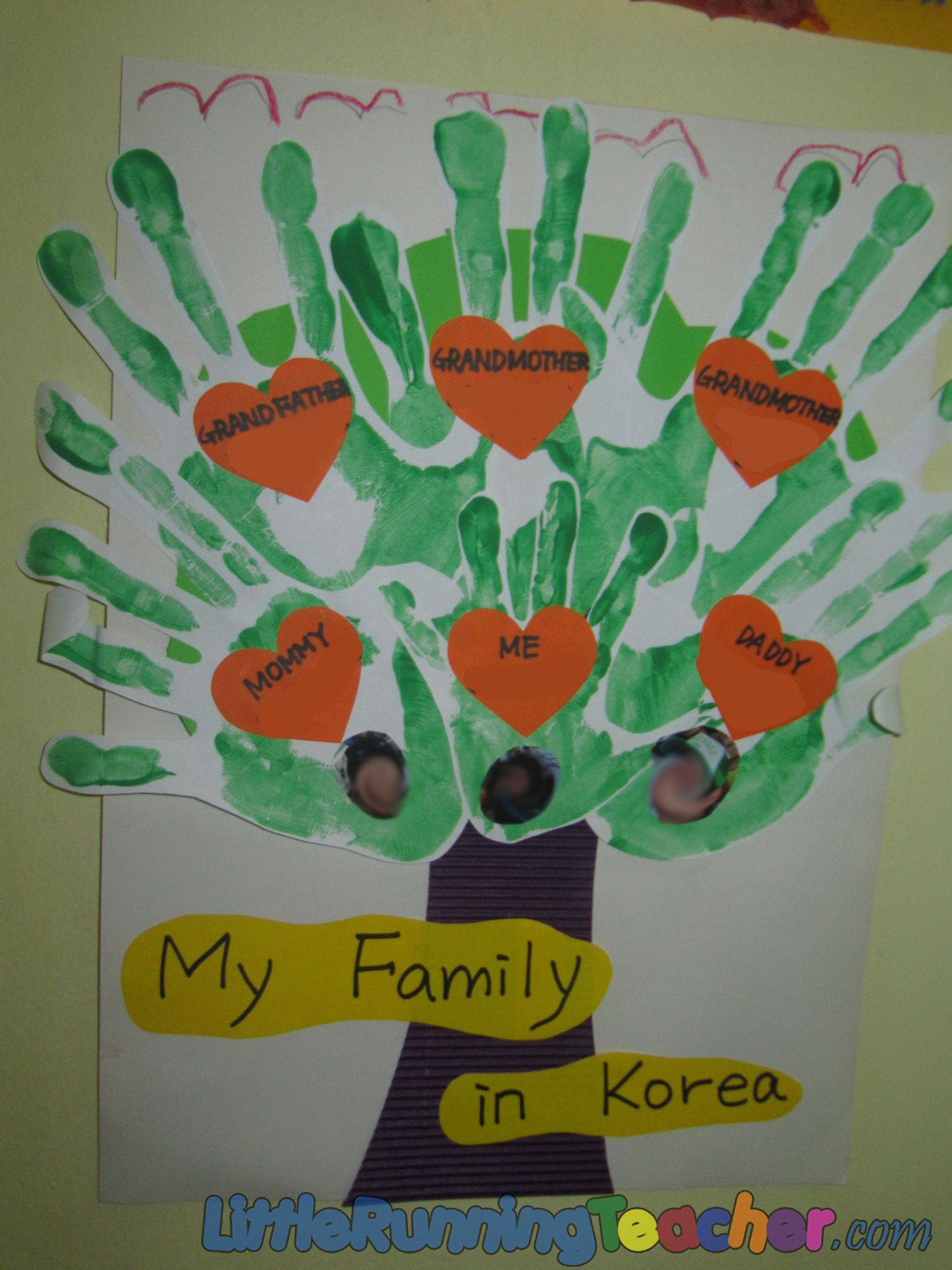 Family Tree In Preschool With Images