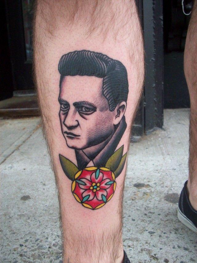 Johnny Cash tattoo I want...   Johnny cash tattoo, Johnny ...