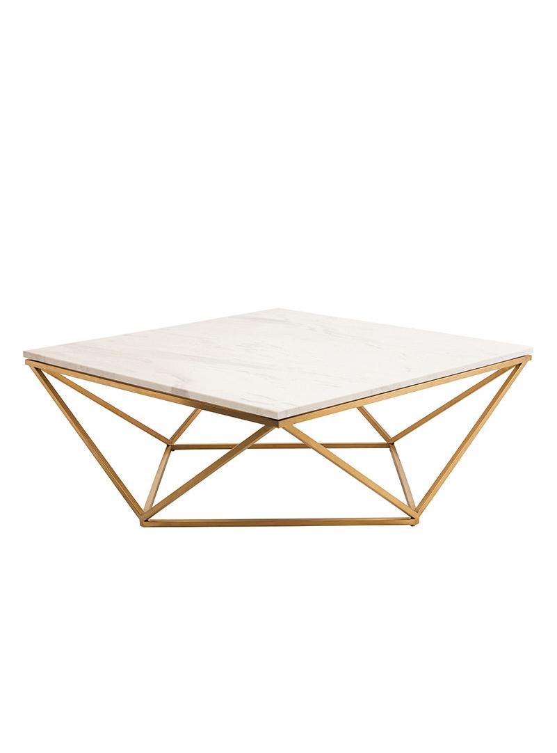 Statement Marble Gold Coffee Table Homedecor Interiordesign Livingroom Stone