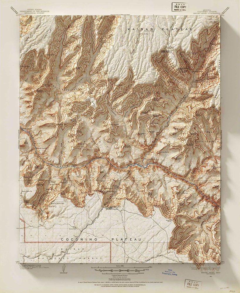 Scott Reinhard Vintage Maps Map Artwork Map Art