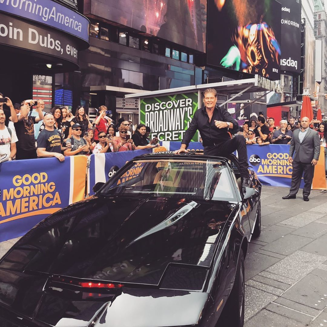 David Hasselhoff On Instagram July 10th 8pm Est On History Don T Miss The Show Where I Raced Kitt In An Awesome Battle Of The Supercars Of The 80 S 80s