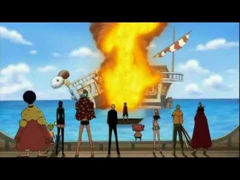 One Piece Despedida De Merry Luffy One Piece Anime One Piece
