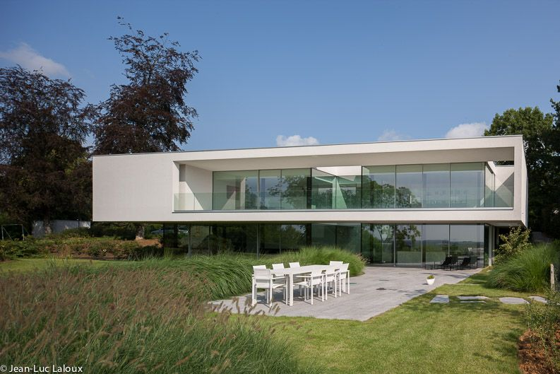 House by Belgian Architect Bruno Erpicum - picture by Jean ...