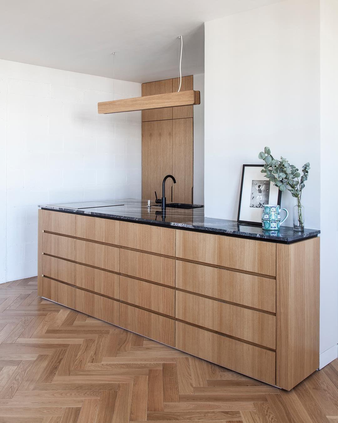 Atelier D Architecture Paris On Instagram Gambetta La Cuisine En Chene Sur Mesure Chene Oak Surmesure Cuisine Chene Chene Renovation Appartement