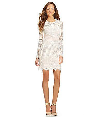Gianni Bini Dara Lace Dress #Dillards