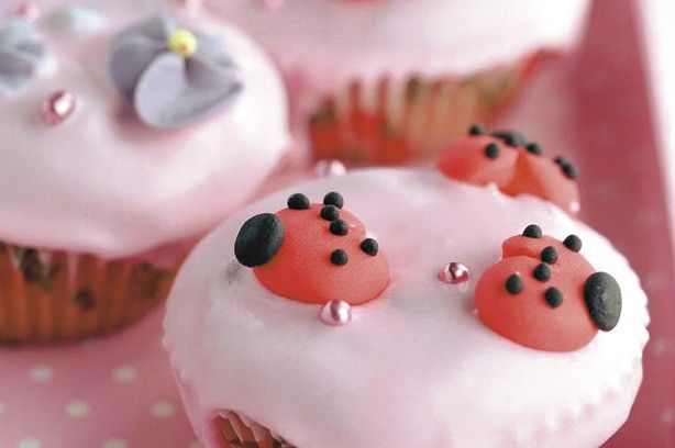 Ladybird cupcakes recipe