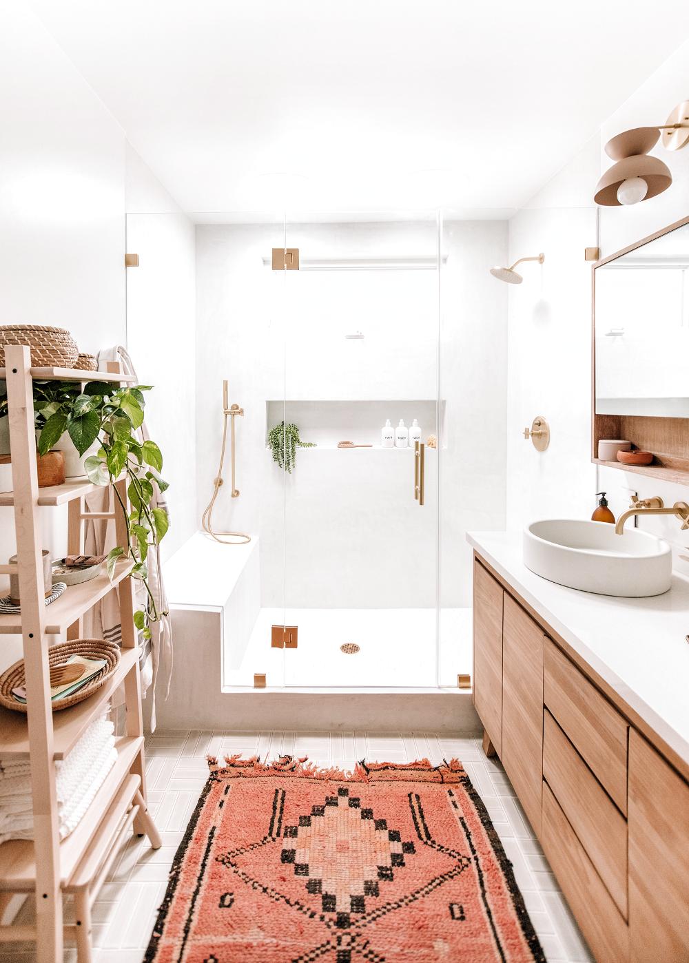 Our Master Bathroom The Reveal Almost Makes Perfect In 2020 Wohnung Badezimmer Dekoration Badezimmer Dekor Haus Deko