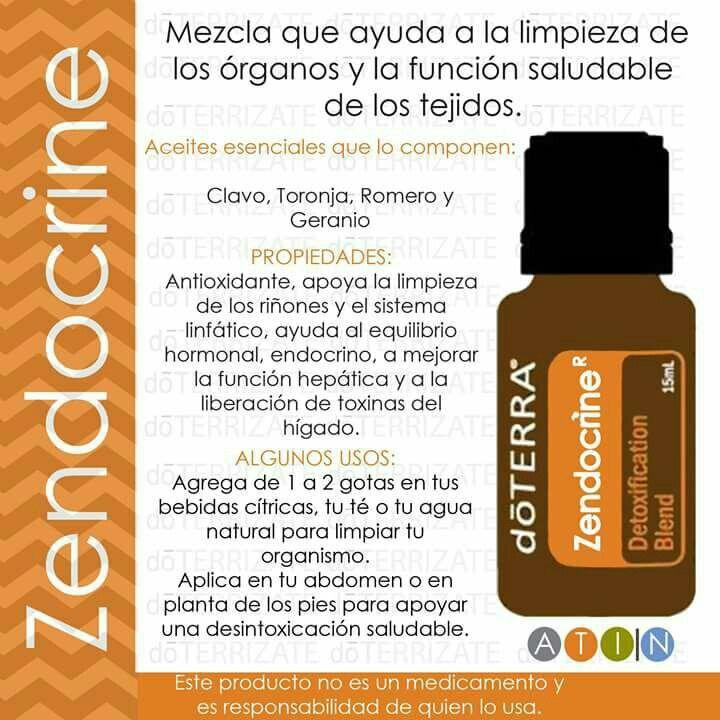 Zendocrine doterra pinterest aceites esenciales - Alcohol de limpieza para que sirve ...