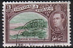 Trinidad and Tobago 1938 Mount Irvin Bay Fine Used SG 248a Scott 52A Other West Indies and British Commonwealth Stamps HERE!