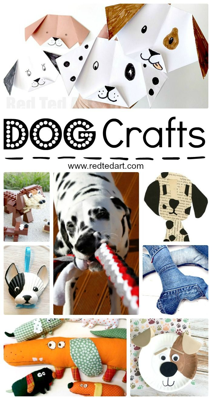 Easy Dog Diy Ideas Dog Crafts Animal Crafts Crafts For Kids