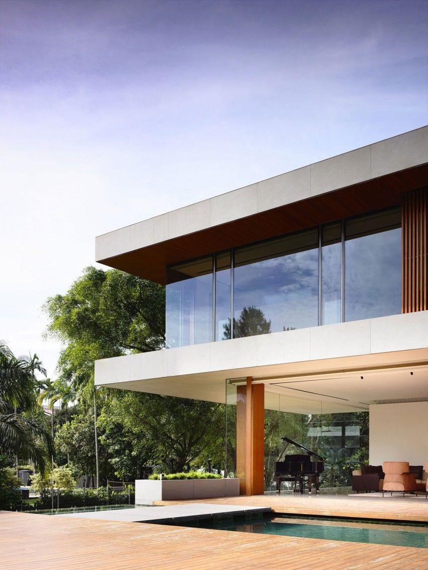 Das 65BTP-House wurde von ONG & ONG Pte Ltd entworfen, es handelt ...