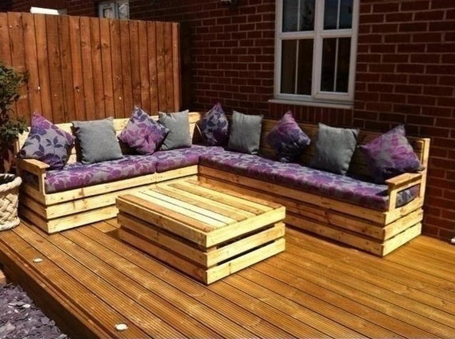 diy outdoor sofa plans uk